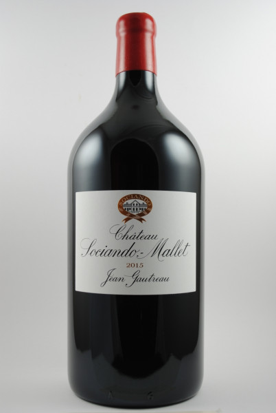 2015 Château Sociando-Mallet Cru Bourgeois DOPPELMAGNUM